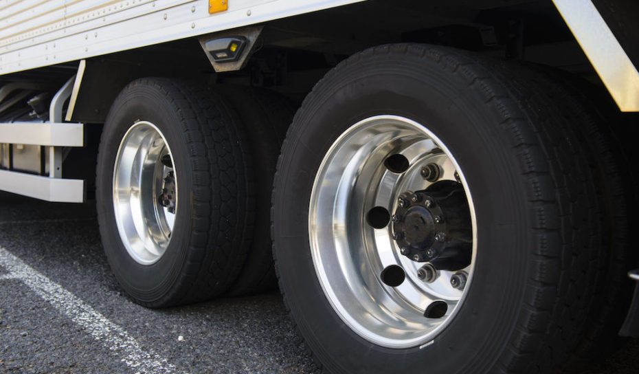 gomme camion